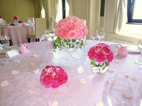 テーブルアレンジメント写真